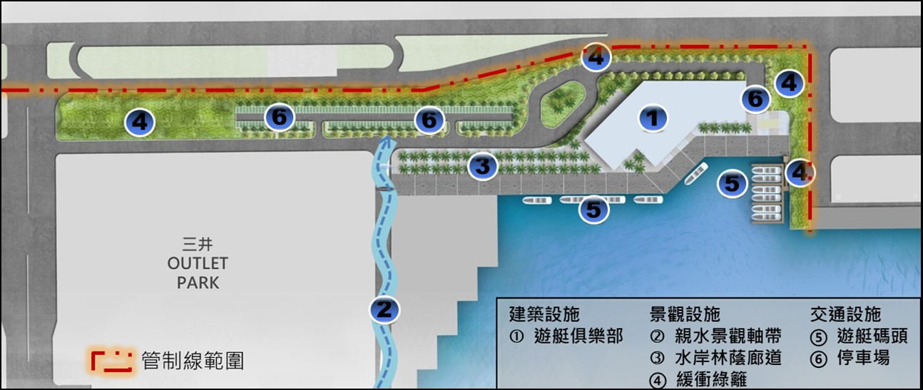 Port of Taichung to Announce Invitation to Bid on New Marina District for the Development of Water-related Tourism and Recreation